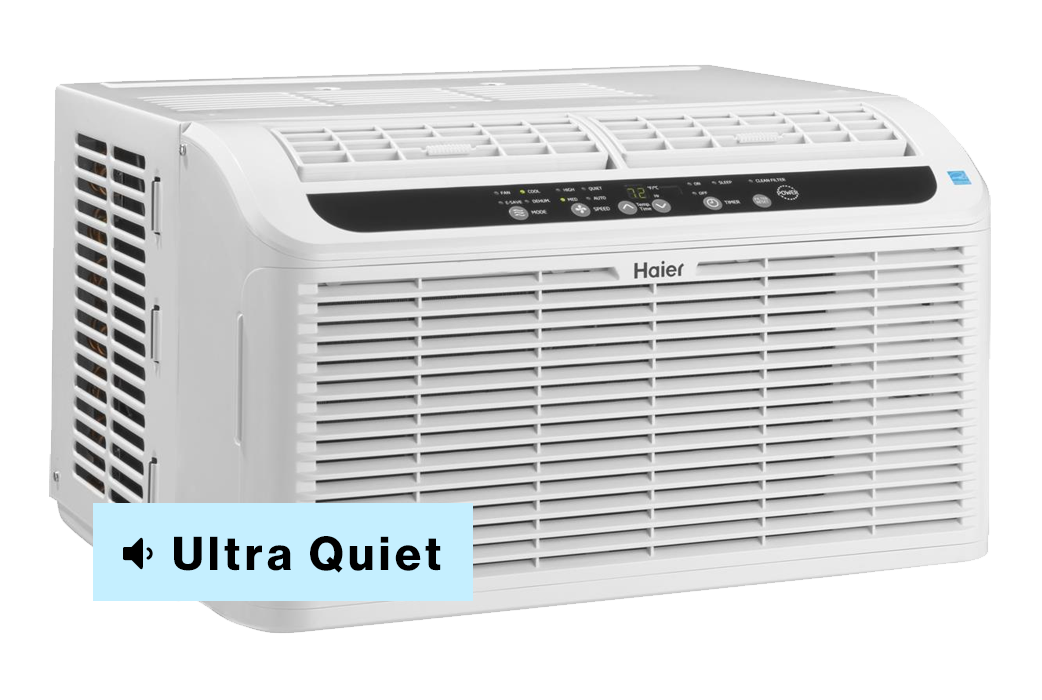 Haier window air conditioner ultra quiet serenity model