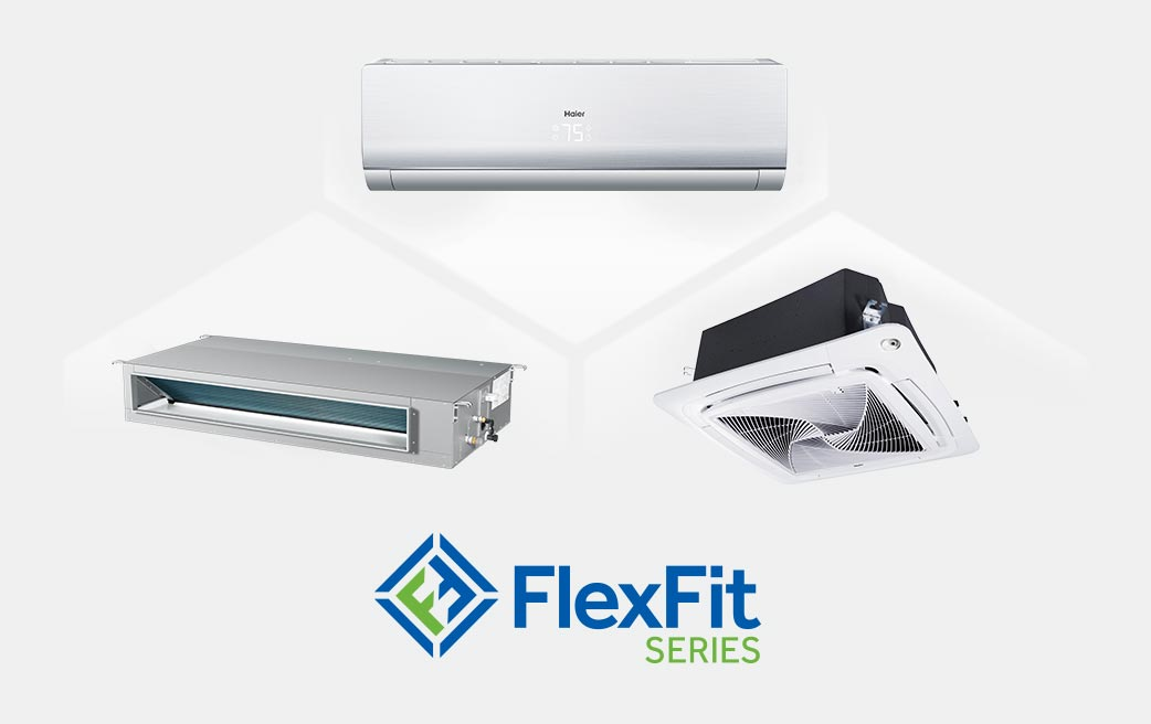 Photo of Haier Ductless Single Zone FlexFit Series AC Units