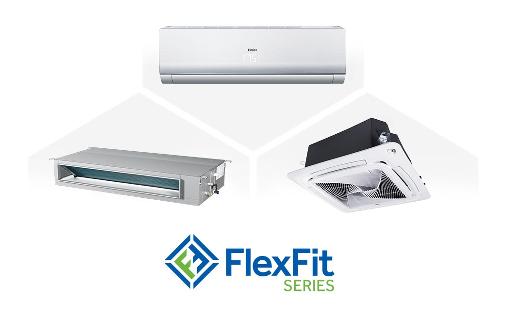 Photo of Haier Ductless Multi Zone FlexFit Series AC Units