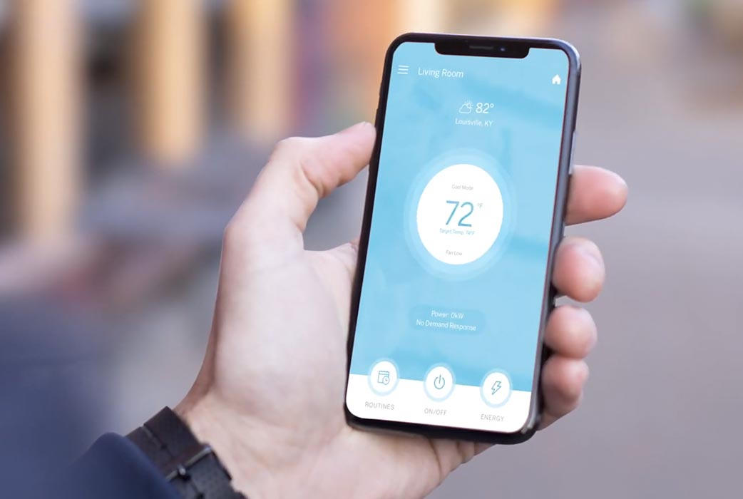 Haier window air conditioner wifi connected app feature