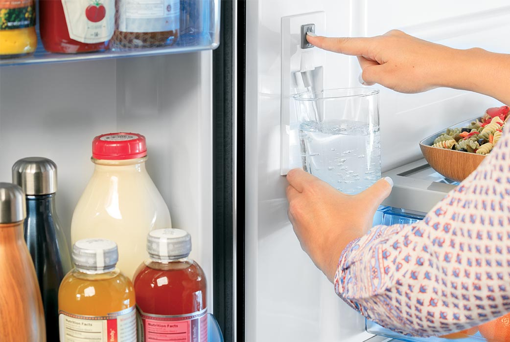 Haier refrigerator internal water dispenser
