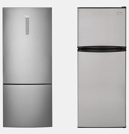 Top or bottom freezer refrigerator options