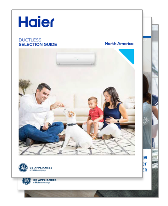 Ductless Marketing Literature Examples