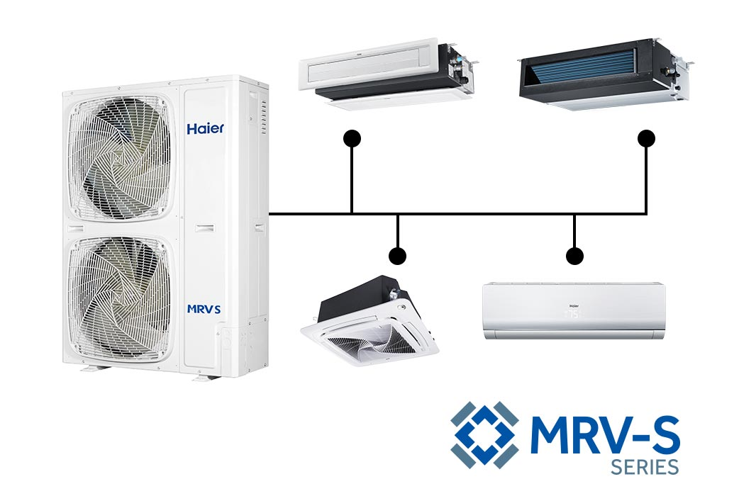 Photo of Haier Ductless Multi Zone MRV-S Series AC Units