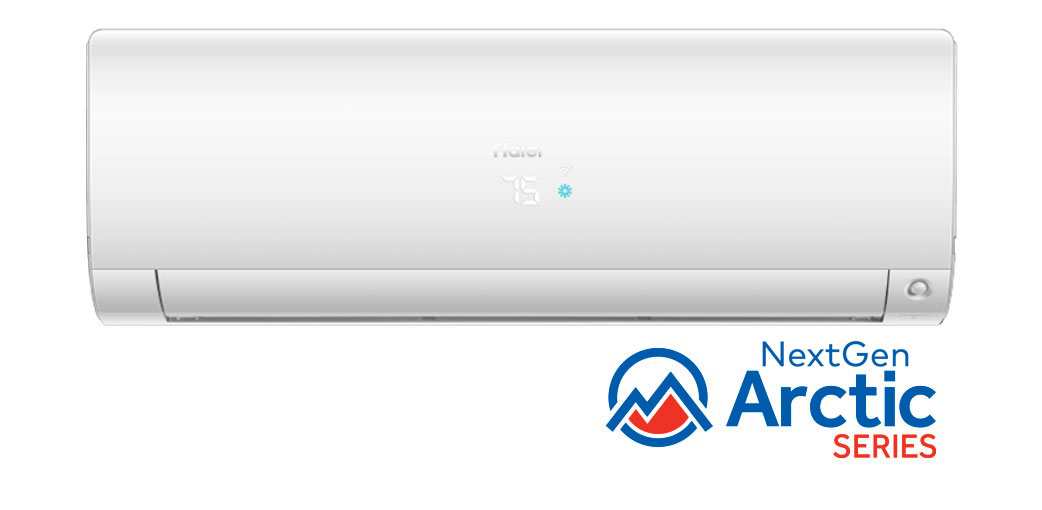 Photo of Haier Ductless Single Zone NextGen Arctic Series Wall Mount AC Unit
