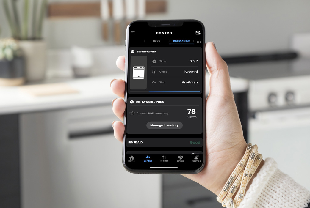 Haier dishwasher WiFi app