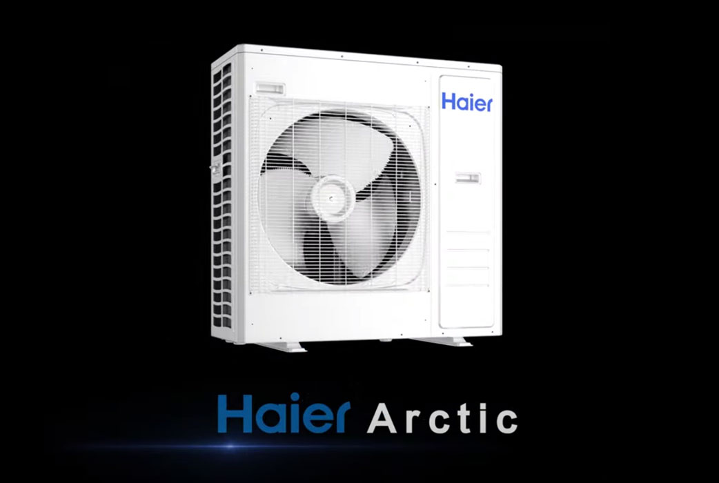 Watch Haier Ductless Arctic Multi Video