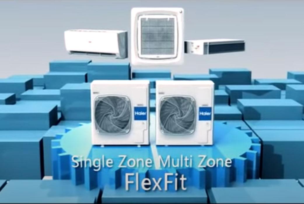Watch Ductless FlexFit Multi Series AC Video