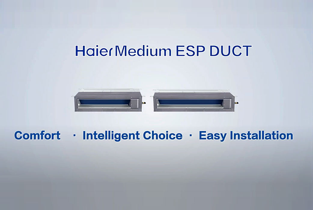 Watch Haier Ductless Mid-Static Ducted Video