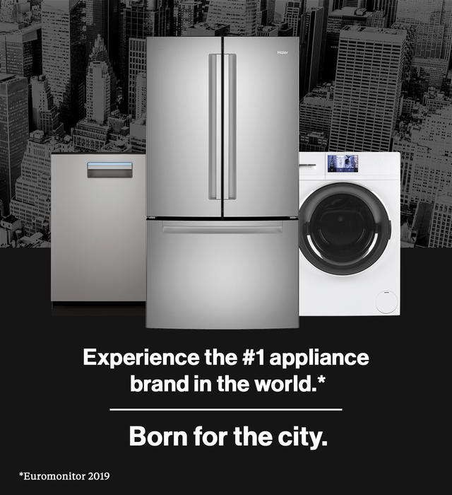 Experience the #1 appliance brand in the world - born for the city.