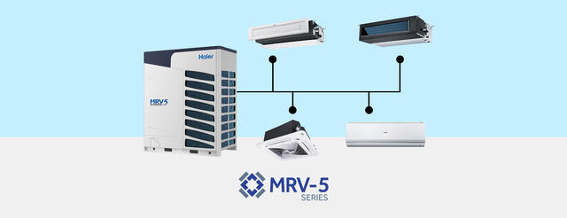 Photo of Haier Ductless MRV-5 Series AC Units
