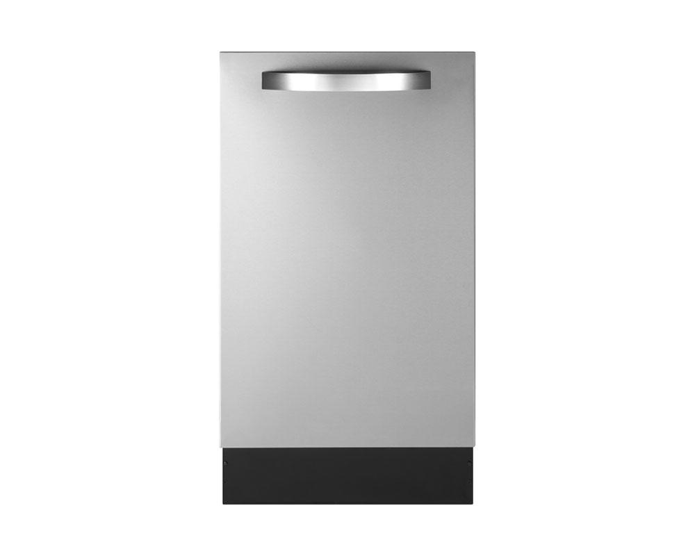 Product support photo of a Haier dishwasher