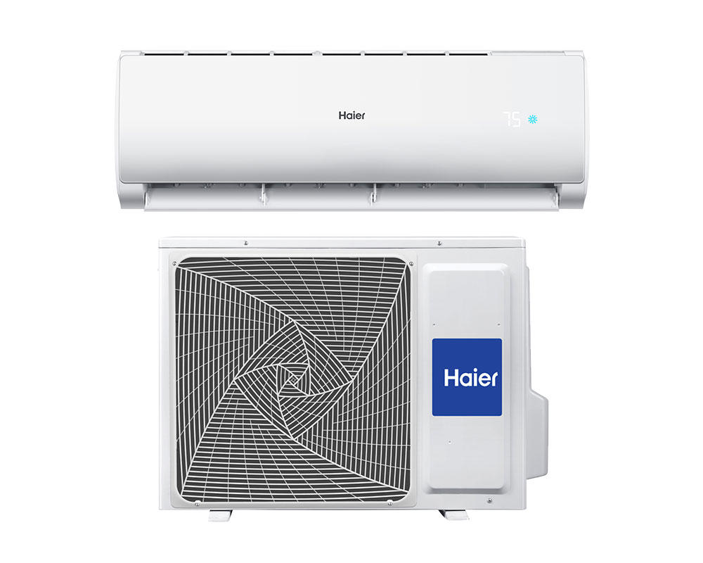 Product support photo of Haier Ductless indoor and outdoor unit