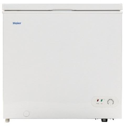 Product photo of a Haier chest freezer currently being recalled