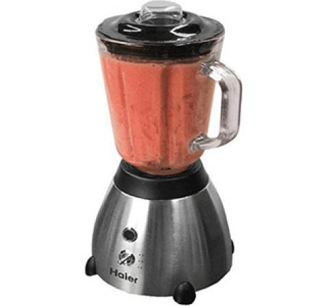 Product photo of a Haier blender currently being recalled